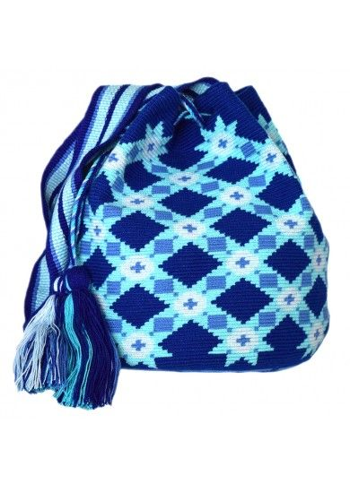 Wayuu Mochila Bag MW-5549 by ACROSS THE PUDDLE: