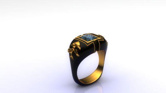 Zoltan David  Men's Ring