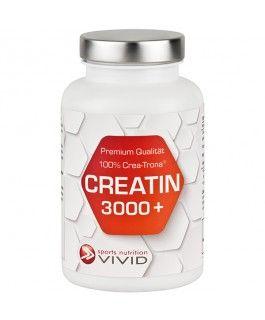 """Creatin 3000 plus -""""CREATIN 3000+"""" mit patentiertem Crea-Trona® ist das innovative Creatin Produkt der nächsten Generation für Sportler (Männer + Frauen). In Verbindung mit Kraft-, Fitness- oder Ausdauertraining kann es für einen schnelleren Muskelaufbau, kürzere Erholungszeiten und größere Ausdauer sorgen. Es wirkt besser und schneller als herkömmliches Kreatin (keine Aufladephase erforderlich) und ist frei von bekannten Nebenwirkungen. Das Muss für Sportler, die mehr wollen!"""