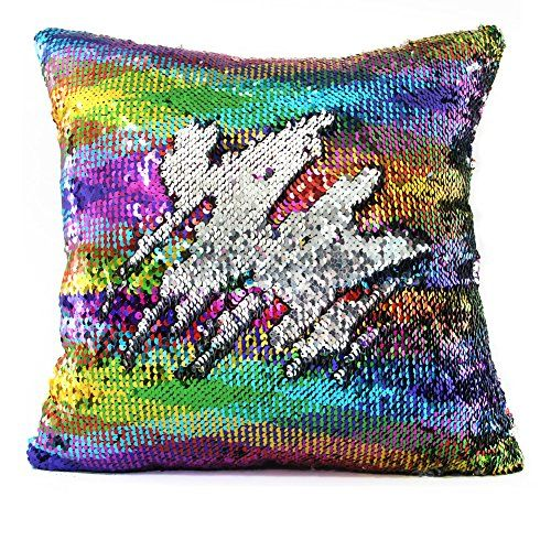 Best Gift Ideas For 8 Year Old Girls Best Toys For Kids Mermaid Pillow Sequin Pillow Pillow Cases Diy