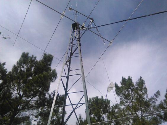 Novas antenas na minha Torre