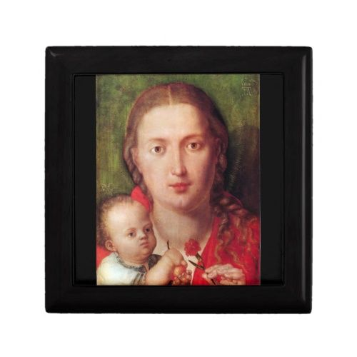 Albrecht Durer - Mary with the carnation Gift Box