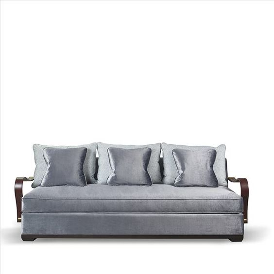 Modular sofa, Seat cushions and Dark brown on Pinterest