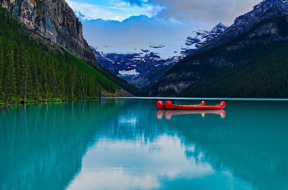 Lake Louise -- so beautiful!