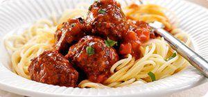 Slimming World Italian Meatballs in Tomato Sauce