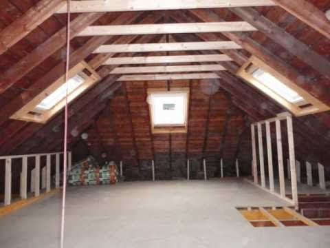 Create Attic Storage Space - DIY Network - YouTube | Home | Pinterest | Attic  loft, Attic and Lofts