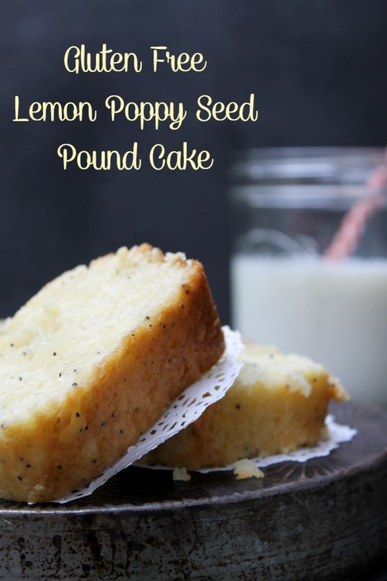 Lemon Poppy Seed Pound Cake | Recipe | Lemon Poppy Seeds, Pound Cakes ...