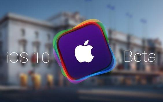 iOS 10 Beta 1 Güncellemesi
