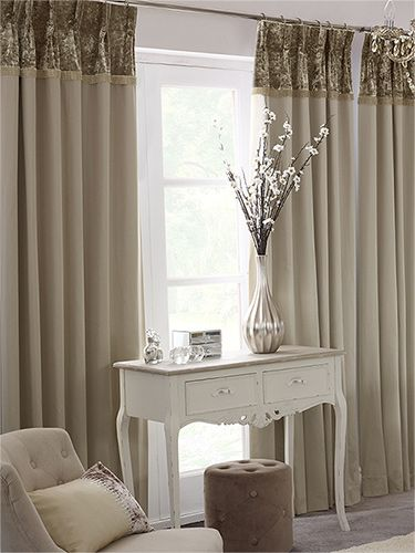 Astonia Diamond Curtains - these beautiful, natural curtains have ...