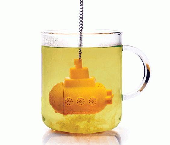 Yellow Submarine Tea Infuser