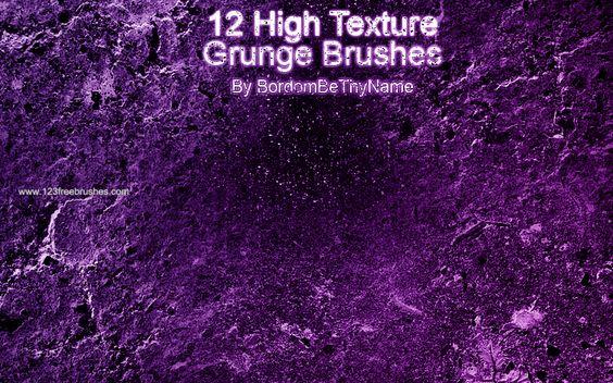 High Texture Grunge - Download  Photoshop brush http://www.123freebrushes.com/high-texture-grunge/ , Published in #GrungeSplatter. More Free Grunge & Splatter Brushes, http://www.123freebrushes.com/free-brushes/grunge-splatter/ | #123freebrushes