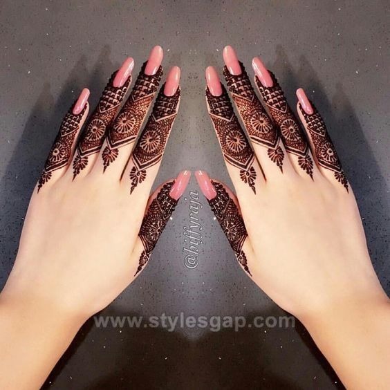 Finger Mehndi Mehndi Design New 2021
