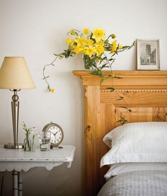narzissen vase schlafzimmer pflanzen feng shui energie haus - schlafzimmer feng shui