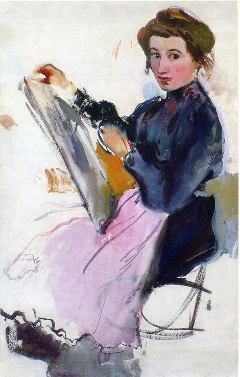 Zinaida Serebriakova, Self-Portrait, 1911: