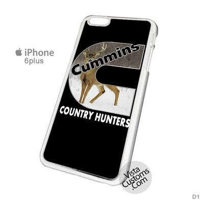 Cummins Country Hunters Phone Case For Apple, iphone 4, 4S, 5, 5S, 5C, 6, 6 +, iPod, 4 / 5, iPad 3 / 4 / 5, Samsung, Galaxy, S3, S4, S5, S6, Note, HTC, HTC One, HTC One X, BlackBerry, Z10