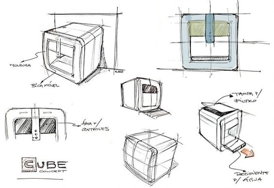 Home Website Leonardo Romeu - Lead Industrial Designer   Projeto Purificador CUBE