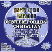 Party Tyme Karaoke: Contemporary Christian (8+8 Track Version) CD
