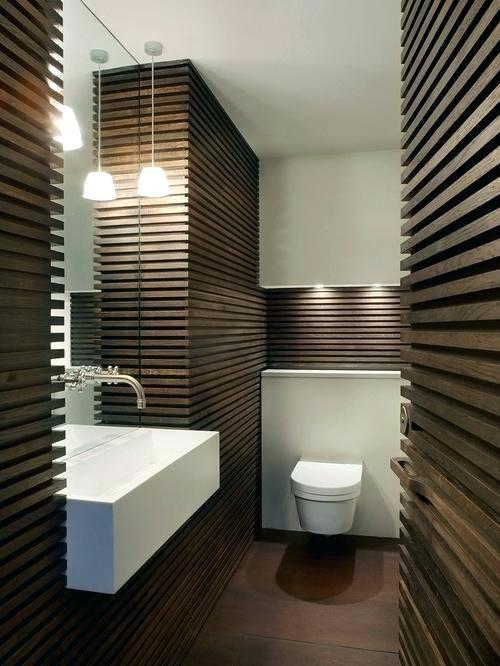 Moderne Holztafelung Dekoration Ideen Modern Bathroom Design Wood Wall Bathroom Wooden Bathroom