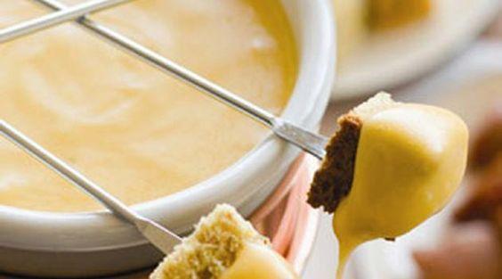 Fondue de queijo tradicional
