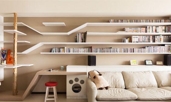 Nordic-style-living-room-creative-bookshelf.jpg 1,099×656 pixels