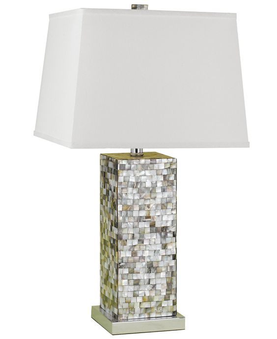 Mother of Pearl Candice Olson Sahara Table Lamp - Lighting & Lamps - For The Home - Macy's