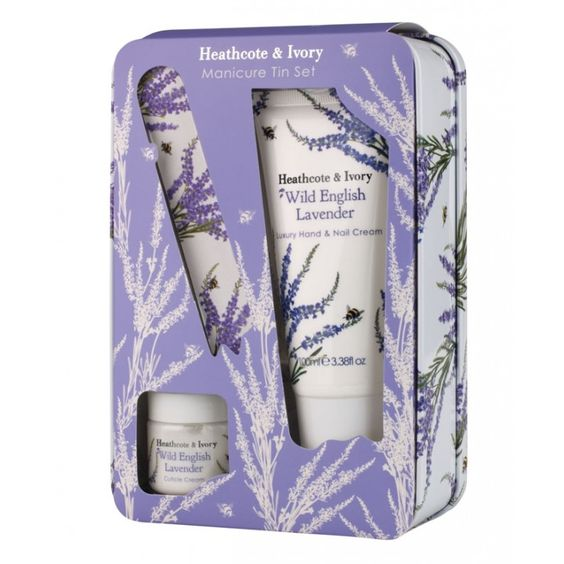 Heathcote ivory wild english lavender manicure for Beau jardin hand cream collection