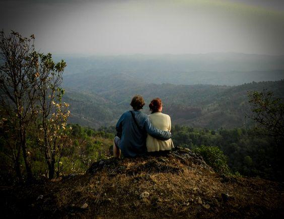 Kyaukme Trekking: Soaking up the view! Myanmar