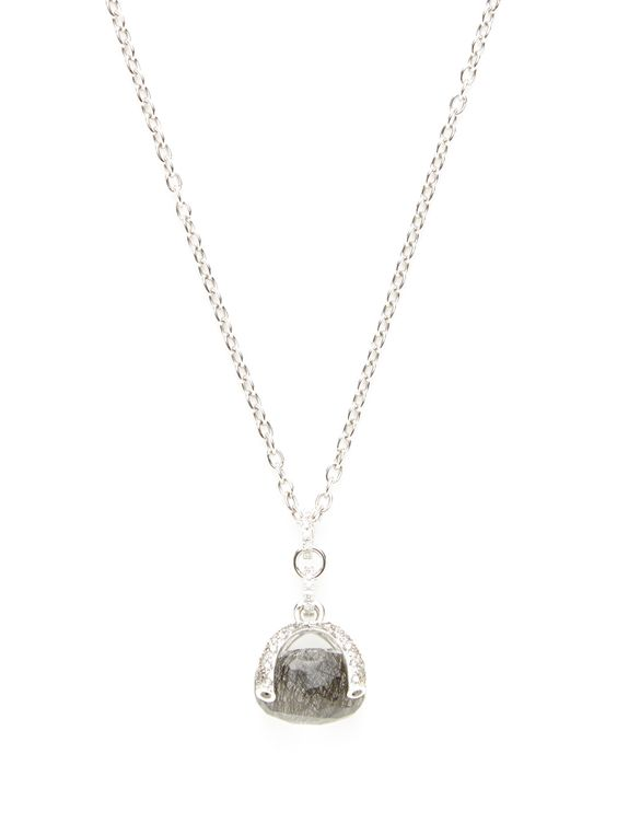 Nanis Bonbon Diamond & Quartz Pendant Necklace at Gilt saved by #ShoppingIS