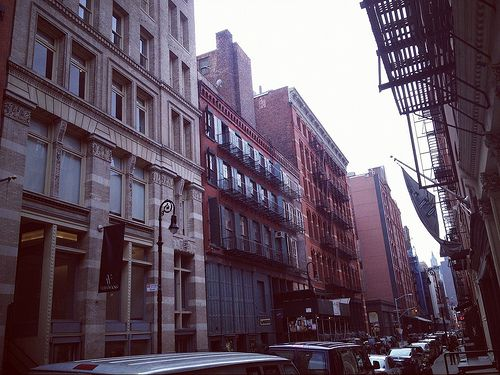 Travel: Mercer Street, New York