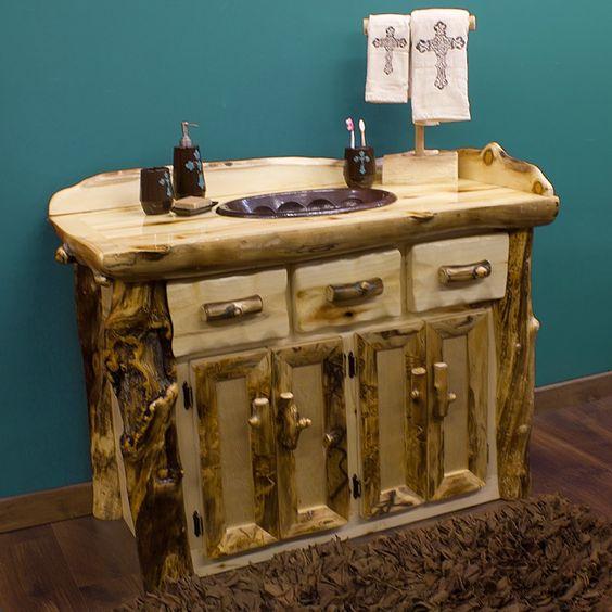 log countertops | Log Furniture Offers Polish and Perfection - 4 Log Furniture