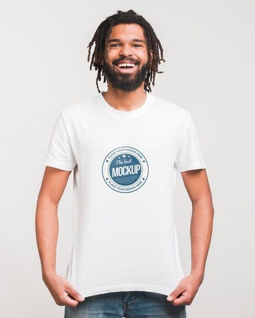 Download Download Man Wearing T Shirt Mockup For Free Shirt Mockup T Shirt Tshirt Mockup Free