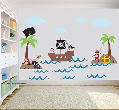 Nursery wall stickers, Jungle nursery and Wall sticker art