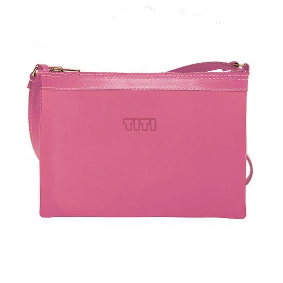Bolso MERINO fucsia crossbag  www.titimasdeu.com