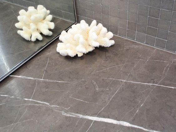 grey pietra marble countertop honed - Google Search