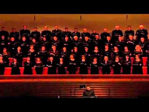 Fauré: Cantique de Jean Racine Op 11.  I like this orchestrated version, and the full sound of the choir.  Someday, I am going to learn the harp part.