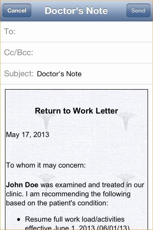 Printable Fake Doctors Notes Free Best Of Free Printable Doctors