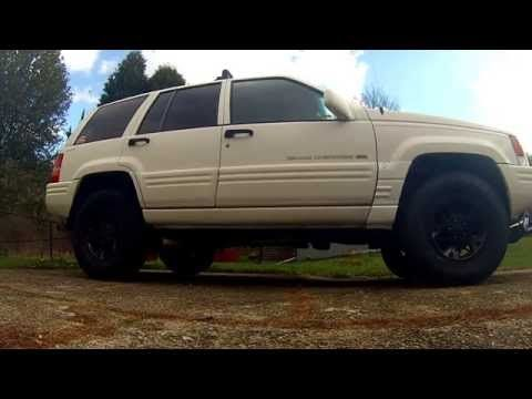 1996 Jeep Grand Cherokee Zj 5 2 V8 With Custom Side Exit Exhaust
