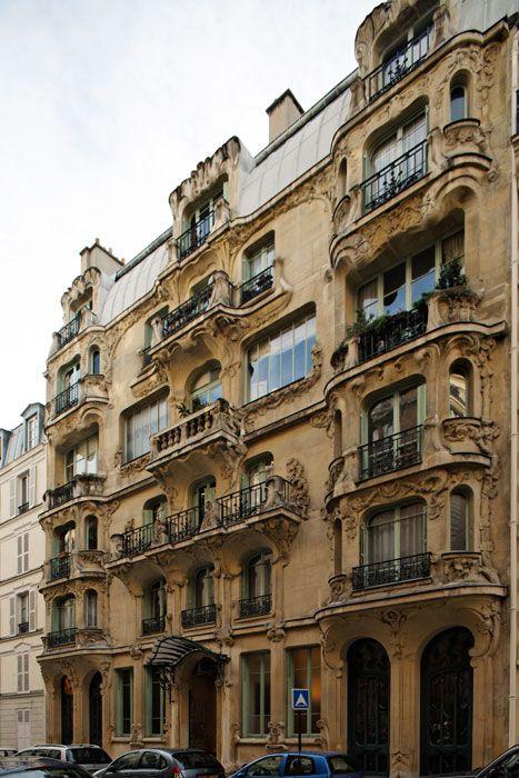 immeuble les arums 1904 33 rue du champ de mars 75007 paris architecte s octave raquin. Black Bedroom Furniture Sets. Home Design Ideas