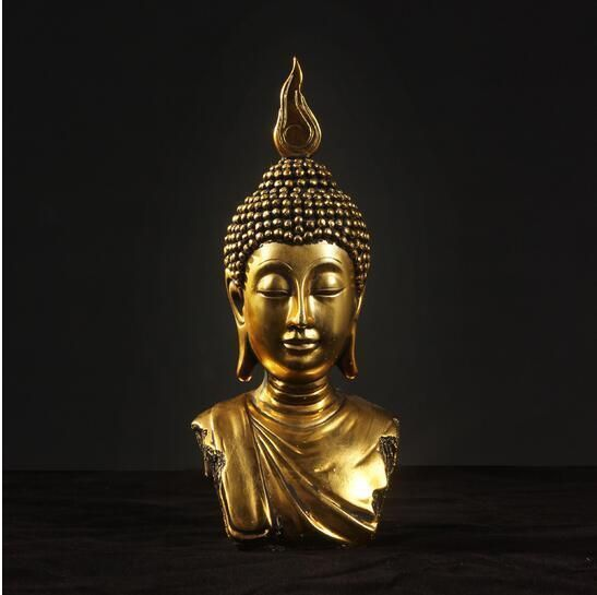Thai Bodhisattva Statue Craft Resin In 2020 Statue Buddha Statue Buddha Idol
