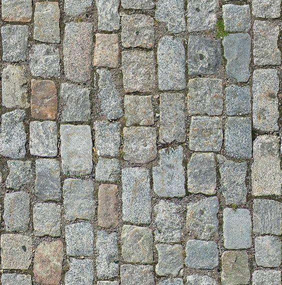 Tileable Stone Pavement Texture + (Maps) | texturise