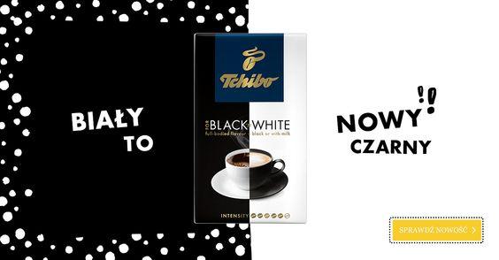 Wszyscy miłośnicy kawy zgodzą się z nami, prawda? ;) Poznaj nowość Tchibo FOR BLACK 'N WHITE na www.kawatchibo.pl #TchiboPolska #TchiboBLACK #TchiboWHITE
