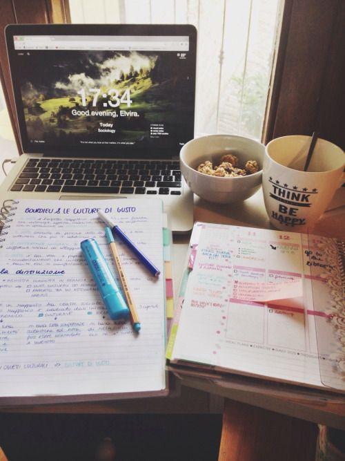 ||| university, school, student, study, college, work space, desk, office, notes, inspo, inspiration, motivation