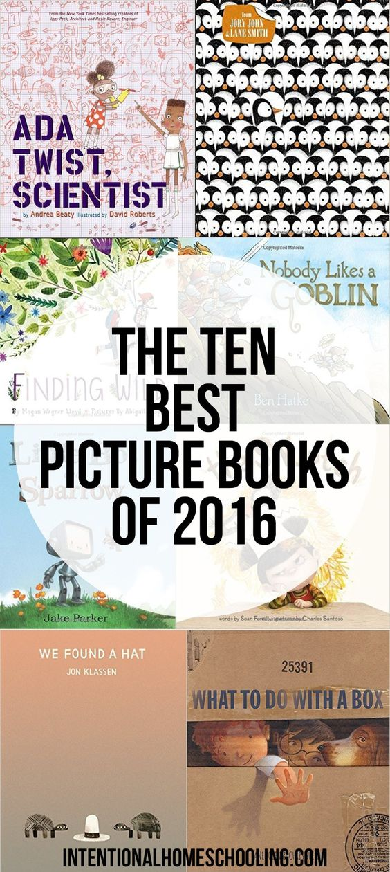 The Ten Best Picture Books Published in 2016 - our absolute favorites!