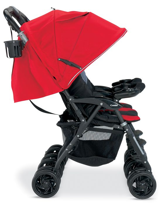 The Combi Twin Cosmo in Red | Strollers | Pinterest | The o'jays ...