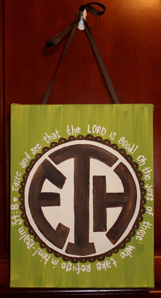 """i think instead i want this quote: """"Do not fear for I have redeemed you. I have called you by name; you are Mine."""" get it, cause monogram?"""