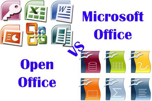 Difference Between Ms Office And Open Office Open Office Ms Office Software Ms Office