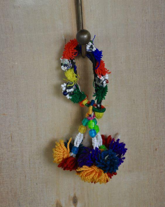 Indie Tassel Keychain