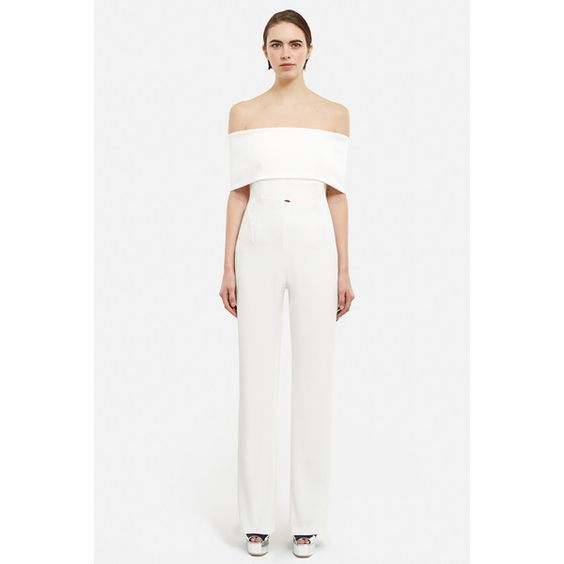 GALVAN OC Exclusive Jumpsuit (128.260 RUB) ❤ liked on Polyvore ...
