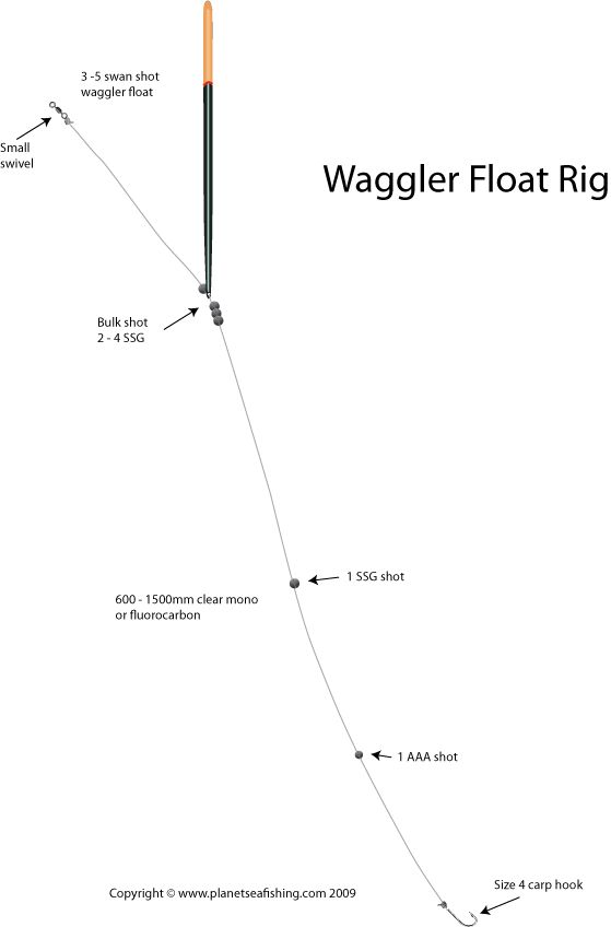 waggler float - www.planetseafishing | fishing rigs, Hard Baits