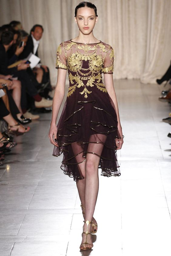 Marchesa Spring 2013 Ready-to-Wear Collection